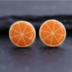 Orange Ohrstecker oder...