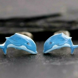Delfin Ohrringe