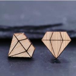 Diamant Holzschmuck