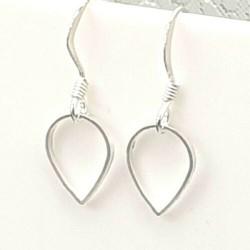 Silber Ohrringe mit Tropfen...