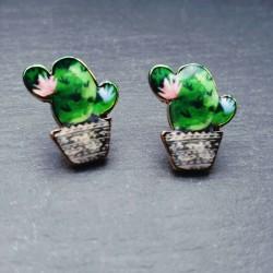 Kleiner Kaktus Ohrstecker...
