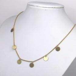 Halskette mit 6 Metallstück...