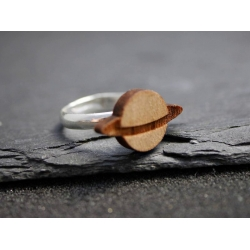 planet ring holz
