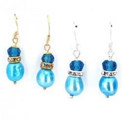 Süßwasser Perlen Ohrringe...