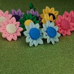 Sonnenblumen Blüten Ohrstecker