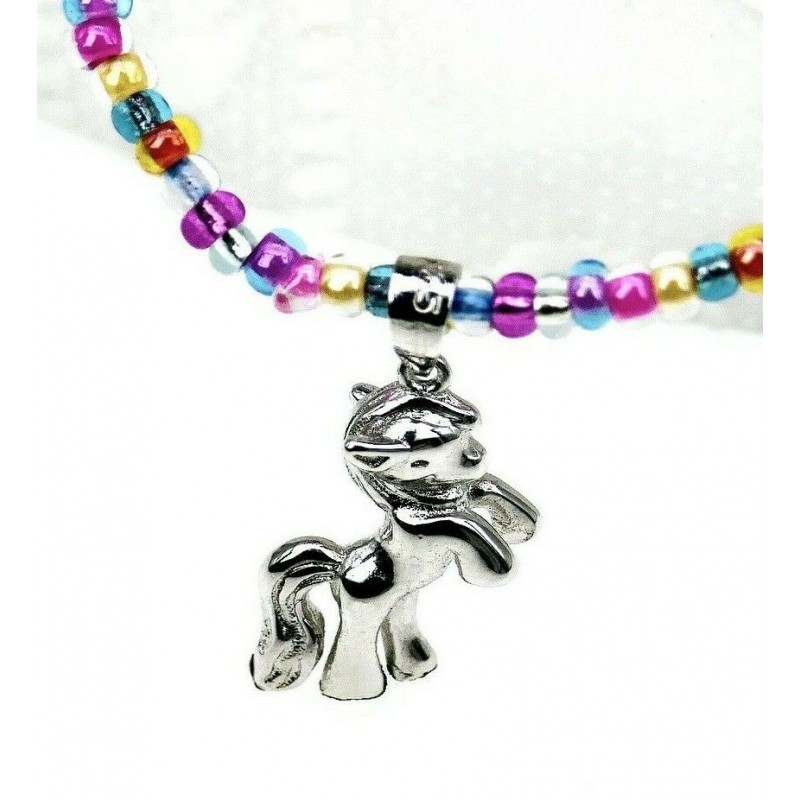 Einhorn Halskette Anhänger 925er Silber