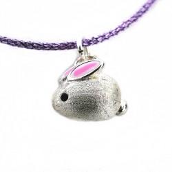 Silber Kaninchen Halsband...